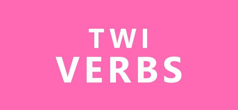Akan (Twi) Verbs | Adeyɔ | Twi Grammar | Lesson 27 | Learn Akan
