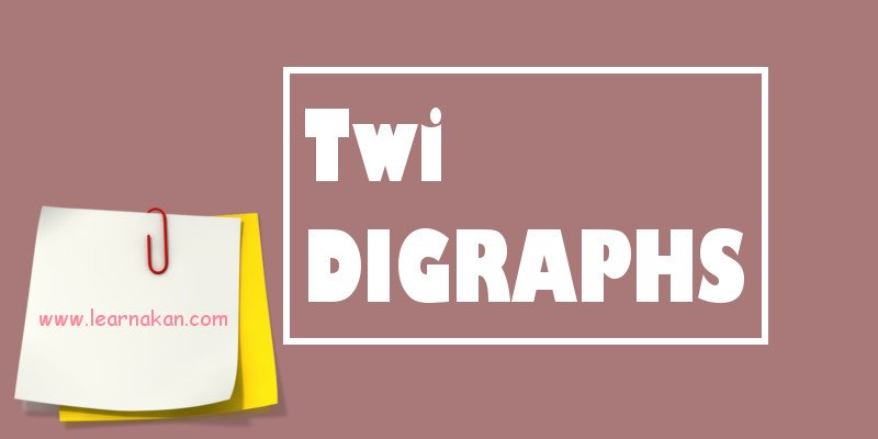 twi digraphs